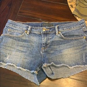 Real juicy couture denim shorts